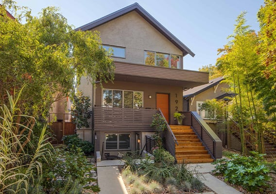 Exterior Repaint on Vancouver Home