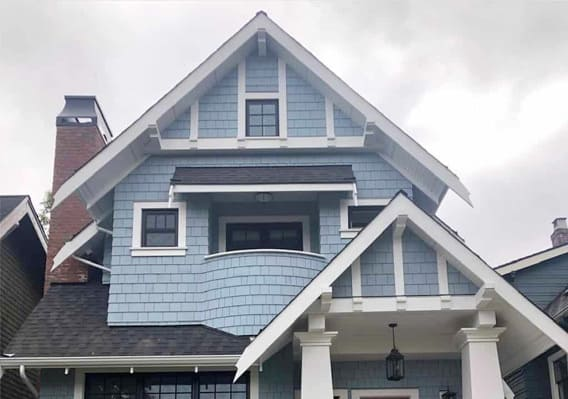 Exterior Repaint on a residential home